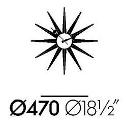 Vitra George Nelson Clock Sunburst likewise Levittown Ny further 1960s ranch house floor plans additionally Full Double Beds C46122 A115 126 together with  on 1950s bedroom design html