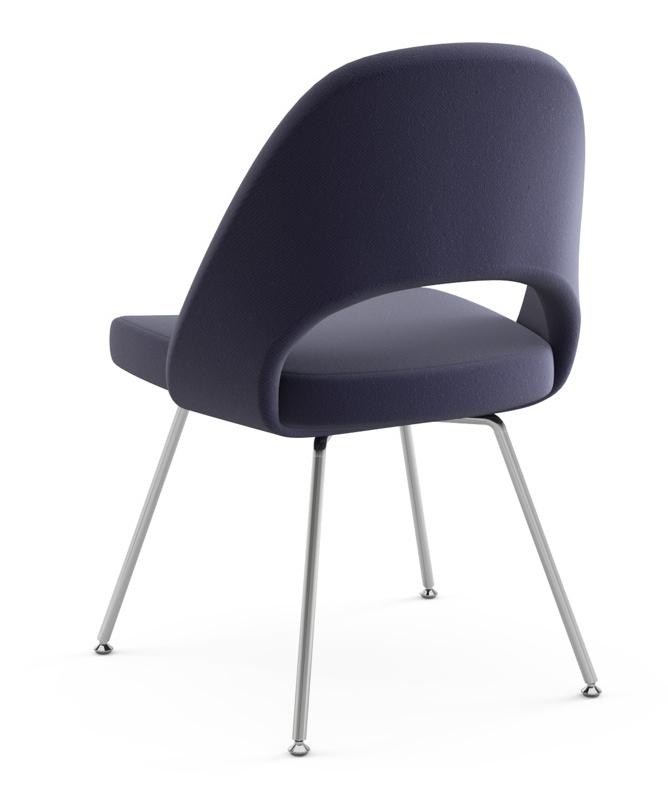 Knoll Eero Saarinen Executive Armless Chair Tubular