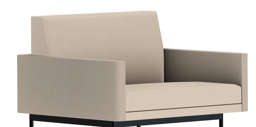 Geiger Tuxedo Component Lounge Sofa