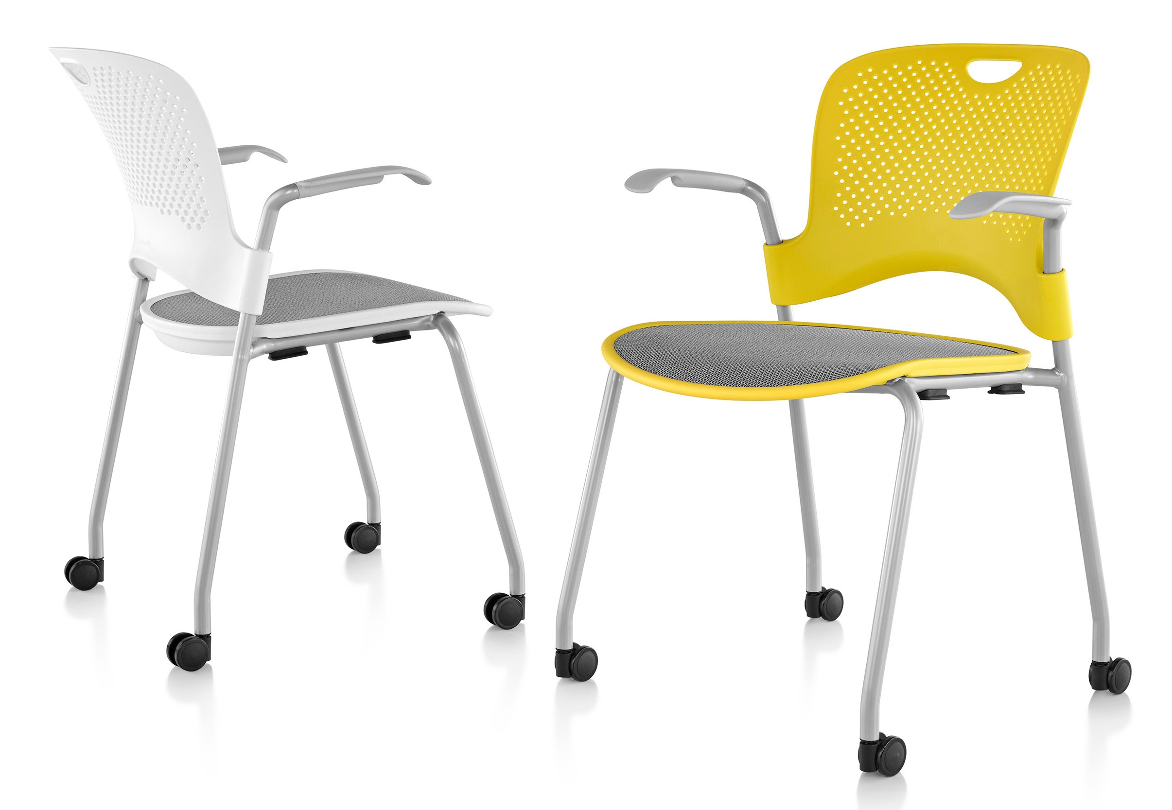 Herman Miller Caper 174 Chair Stacking With Flexnet Gr