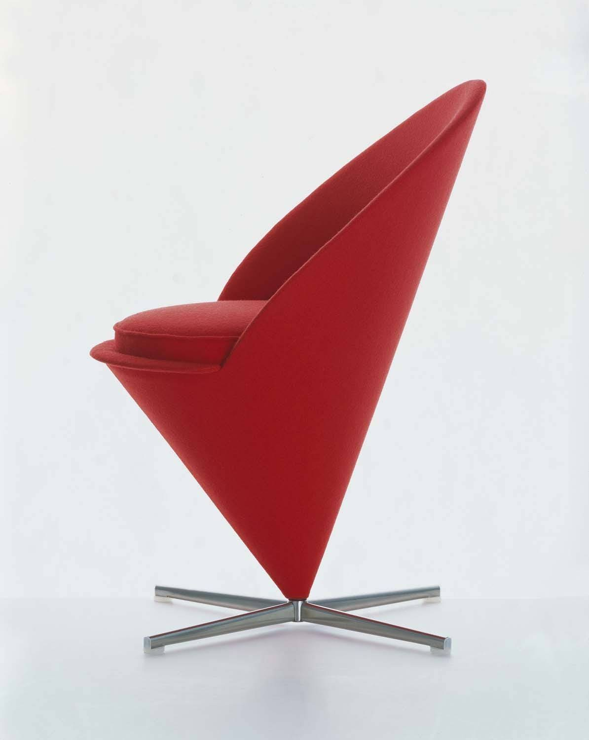 vitra verner panton cone chair gr shop canada. Black Bedroom Furniture Sets. Home Design Ideas