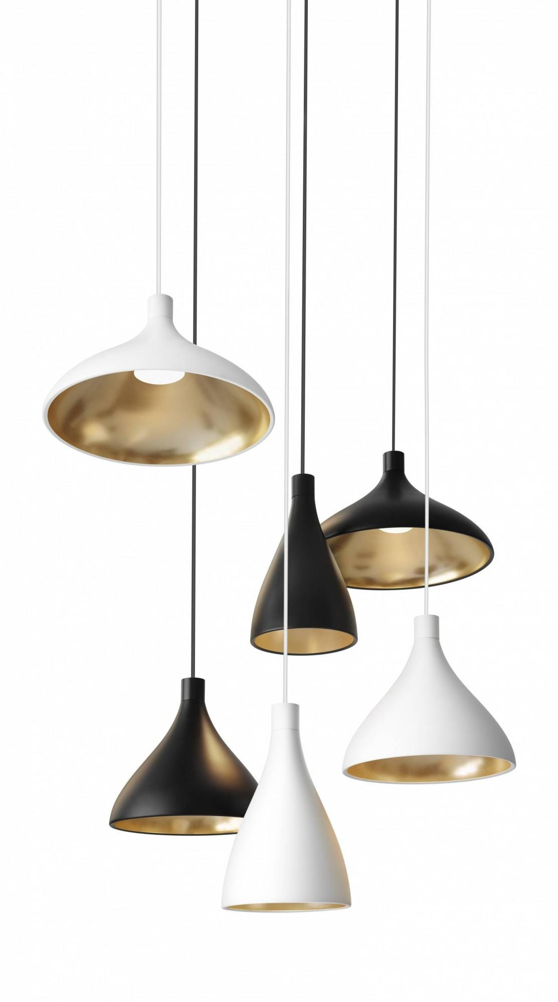Pablo Swell 1 Chandelier Mix Pendant Lamp