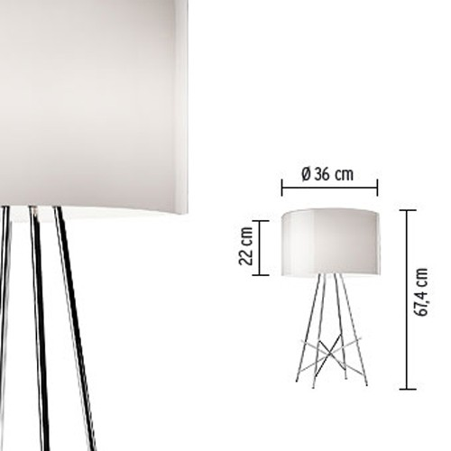 Flos ray t table lamp gr shop canada for Flos ray t table lamp