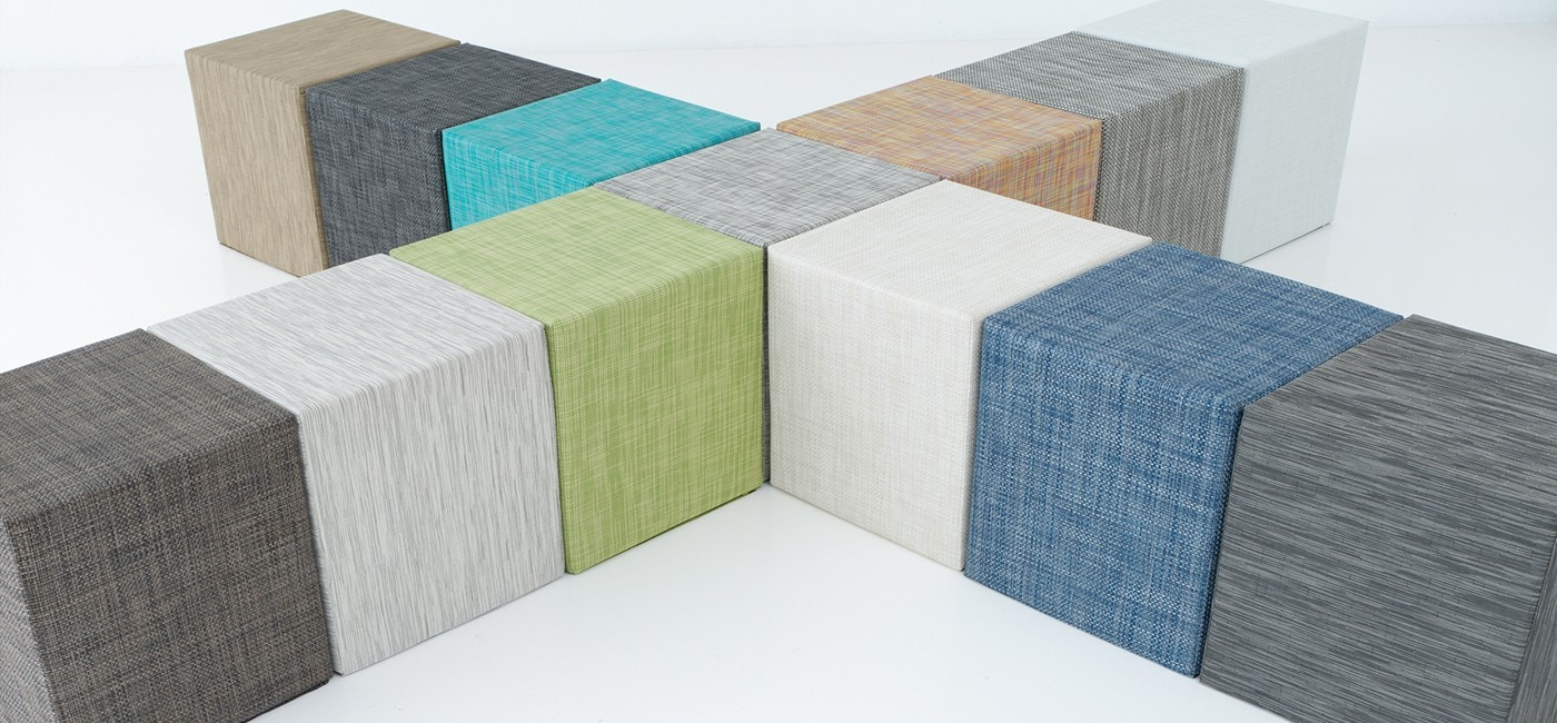 Chilewich Basketweave Cube Collection