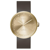 Leff Amsterdam Tube D42 Brass Watch
