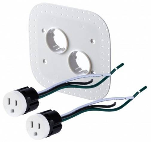 Bocci 22.5.3 15A Drywall Outlet Assembly