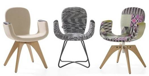 Artifort Patch 02 w/ Armrests Chair