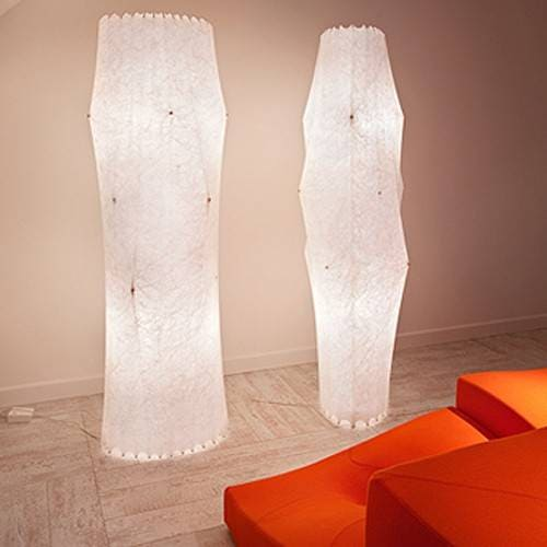 Flos Fantasma and Fantasma Piccolo Floor Lamp