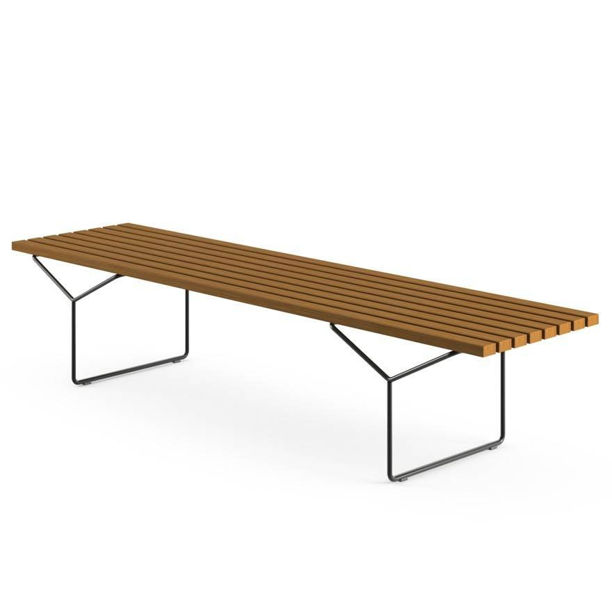 Knoll Harry Bertoia Bench Outdoor Gr Shop Canada