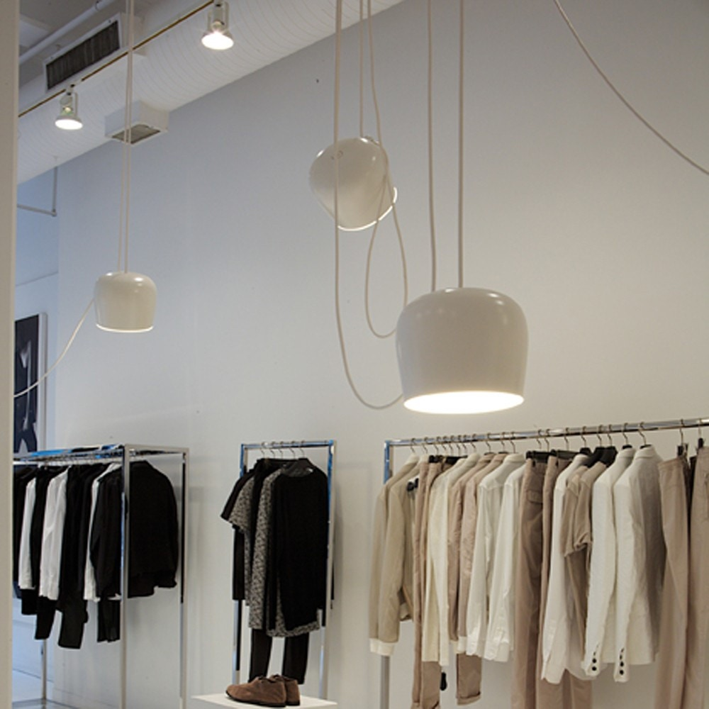Flos aim suspension lamp gr shop canada for Suspension 4 lampes
