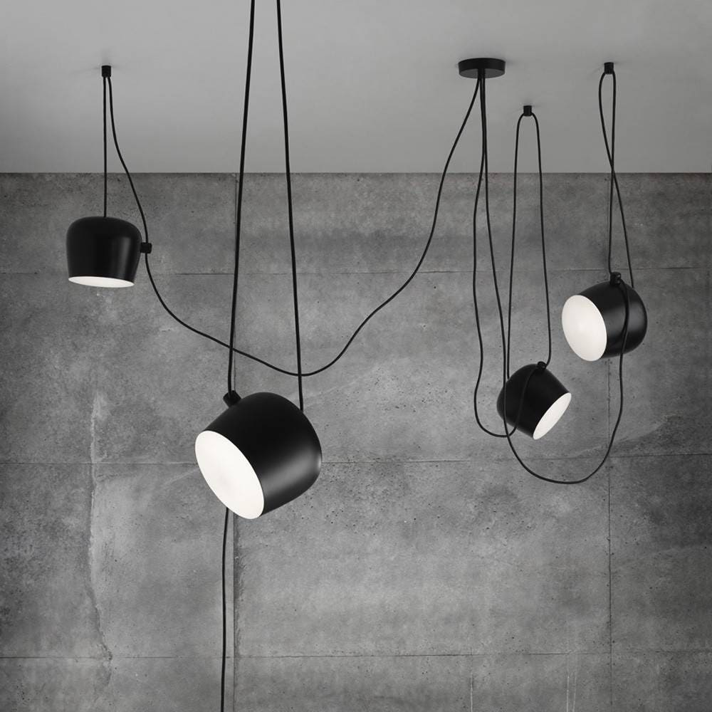Flos aim suspension lamp gr shop canada for Luminaire double suspension