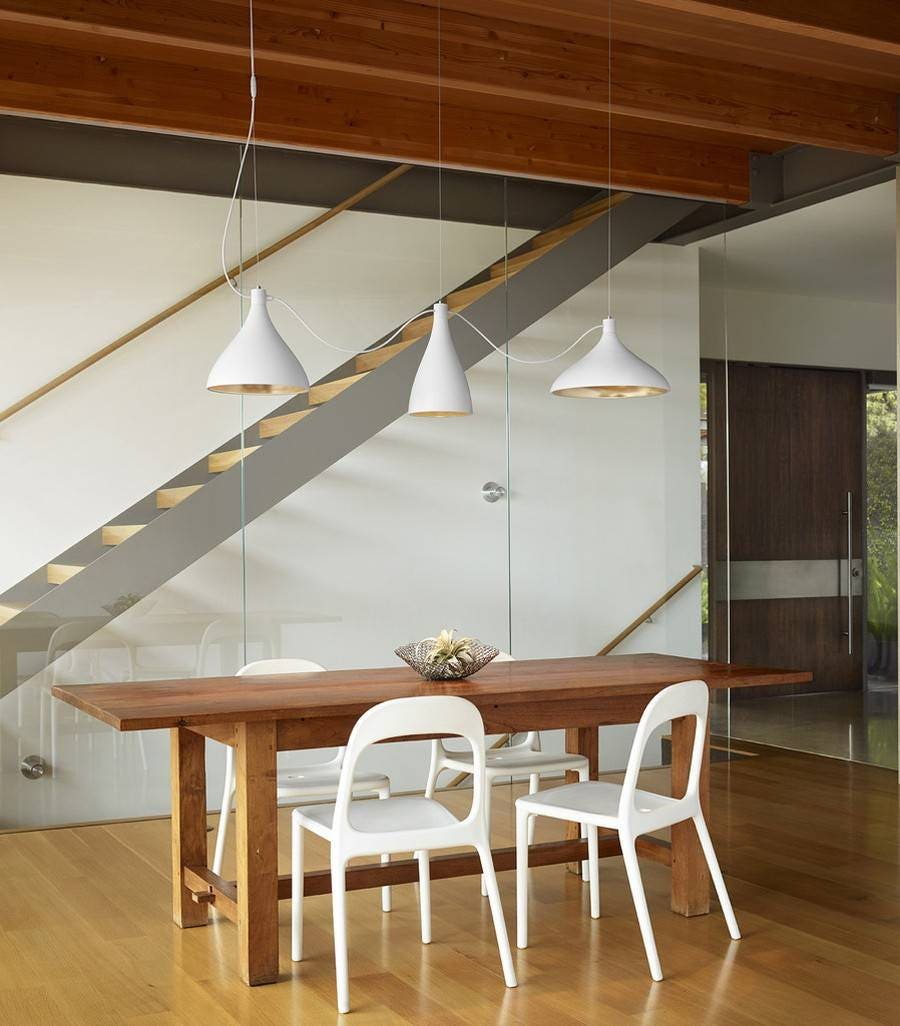 Pablo Swell String 3 Mixed Pendant Light