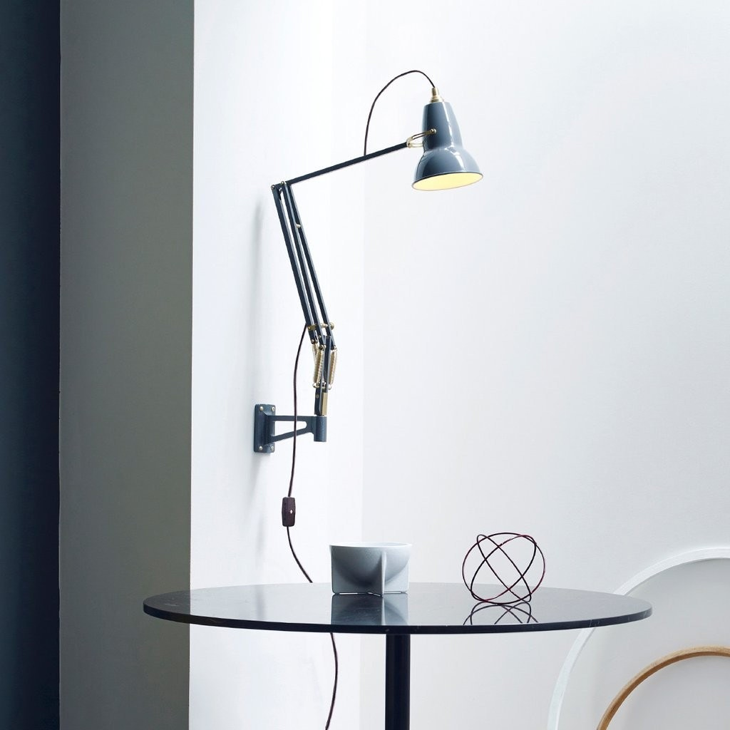 Anglepoise Original 1227 Brass Wall Mounted Lamp - GR Shop ...
