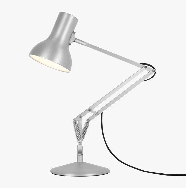 anglepoise type 75 mini metallic desk lamp gr shop canada. Black Bedroom Furniture Sets. Home Design Ideas