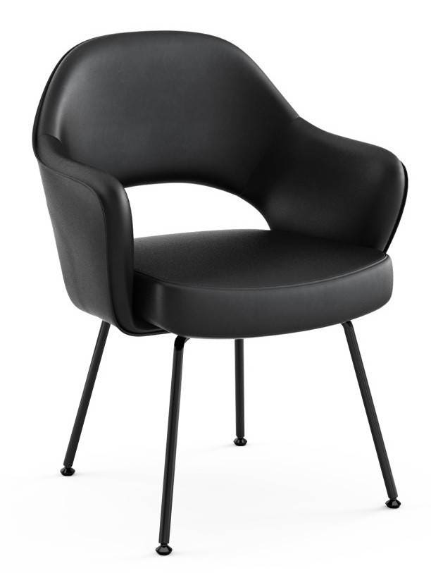 Knoll Eero Saarinen - Executive Arm Chair (Tubular Legs And Glides)