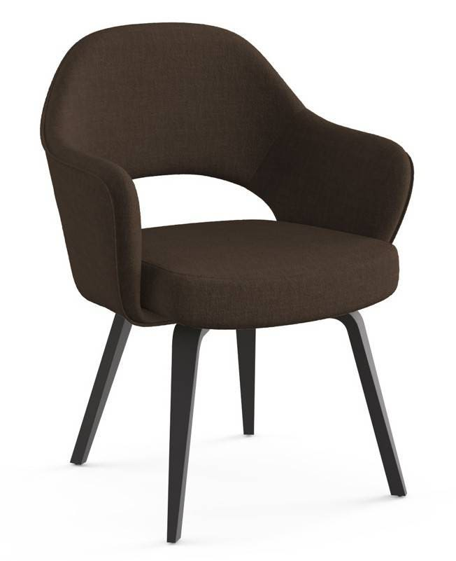 Knoll Eero Saarinen - Executive Arm Chair (Wood Legs And Glides)