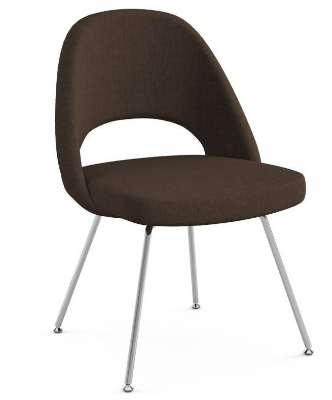 Knoll Eero Saarinen - Executive Armless Chair (Tubular Legs And Glides)