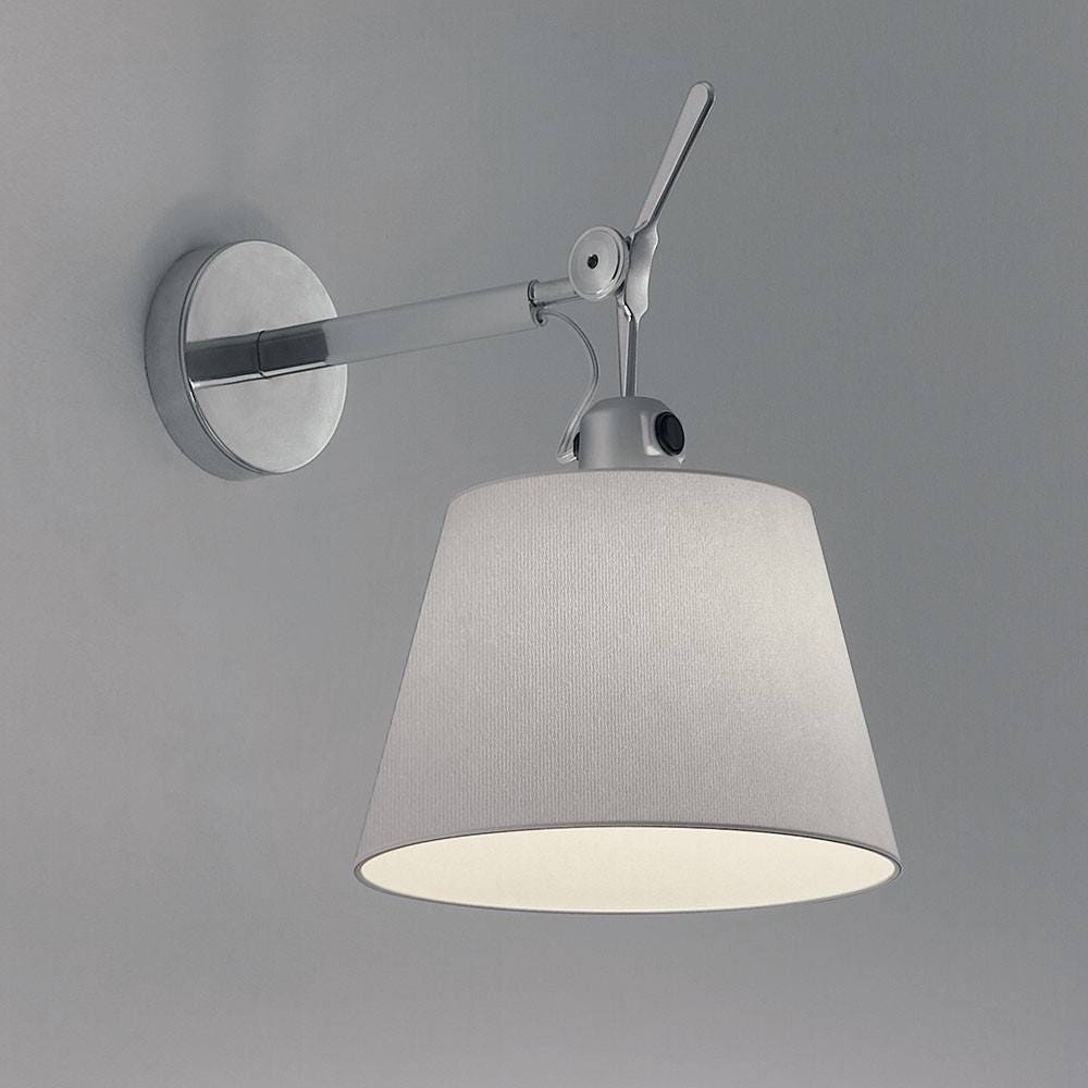 artemide tolomeo shade wall lamp gr shop canada. Black Bedroom Furniture Sets. Home Design Ideas