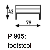 Artifort 905 Foot Stool