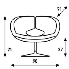 Artifort Apollo Chair