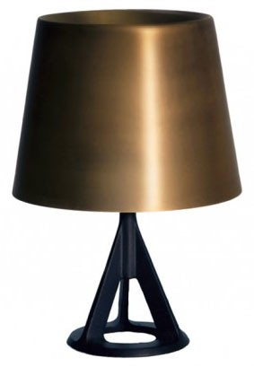 Tom Dixon Base Table Light, Brass