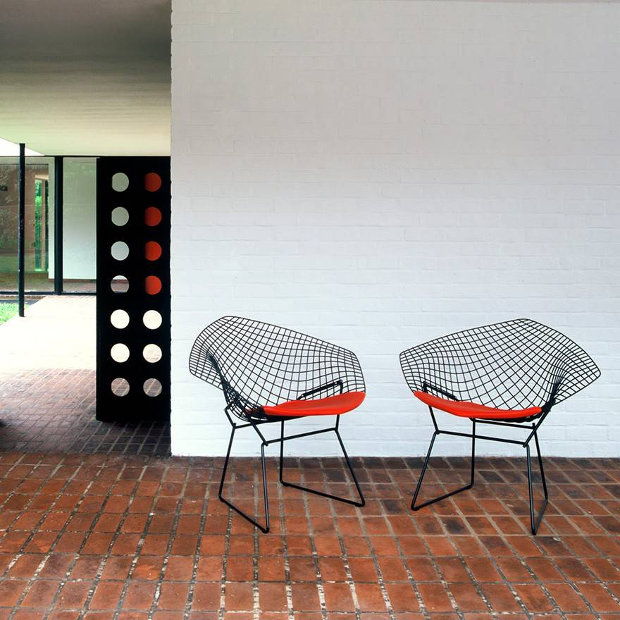 knoll harry bertoia diamond lounge chair gr shop canada. Black Bedroom Furniture Sets. Home Design Ideas