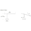 Pablo Brazo Table Lamp
