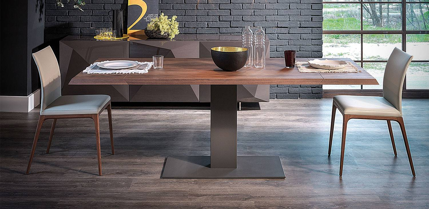 Cattelan Italia Elvis Wood Drive Table - GR Shop Canada