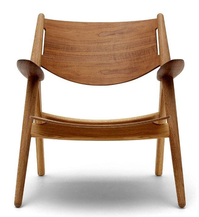 Carl Hansen & Son CH28T Lounge Chair (Non Upholstered)