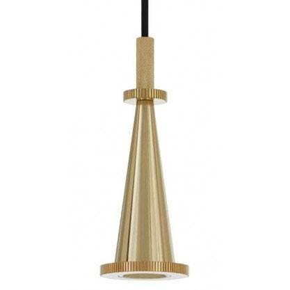 CLEARANCE - Tom Dixon Cog Cone Pendant, Brass
