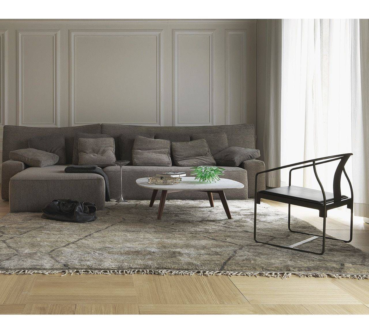 grey left laf sectional products top cupboard medium reclining chaise leather with sofa by light arm facing aura furniture power grain