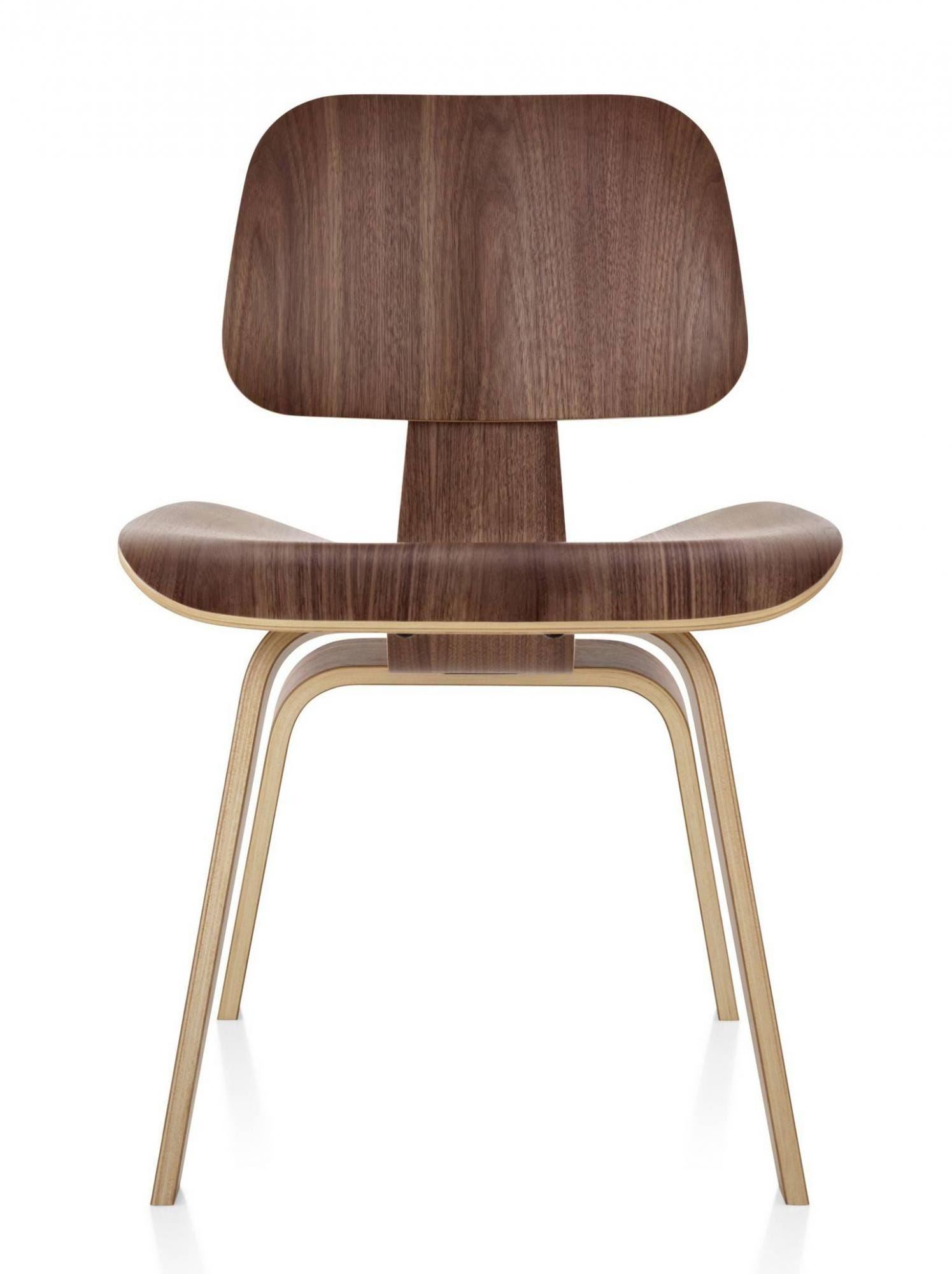 Herman Miller Eames 174 Molded Plywood Dining Chair Wood Legs