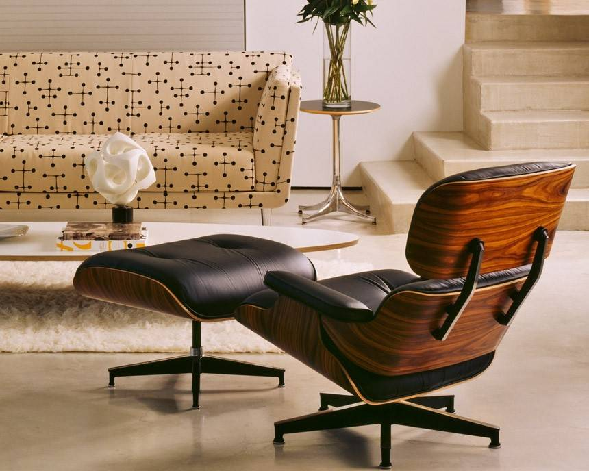 Eames Lounge Stoel : Herman miller eames lounge chair gr shop canada