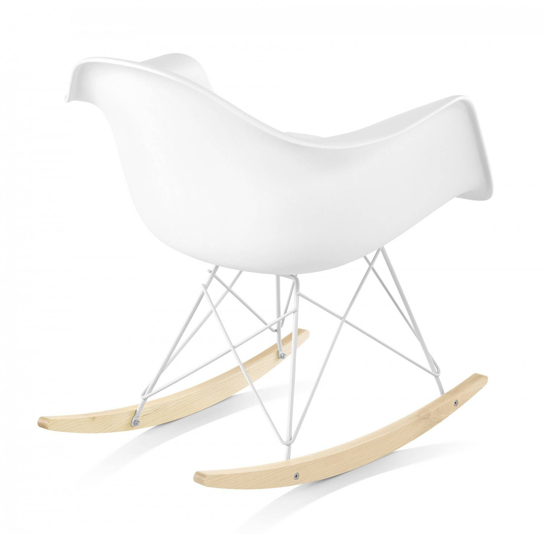 Herman Miller Eames® Molded Plastic Armchair Rocker Base ...