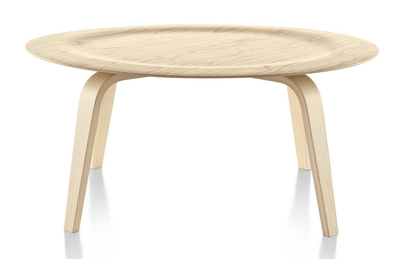 Herman Miller Eames 174 Molded Plywood Coffee Table Wood Base