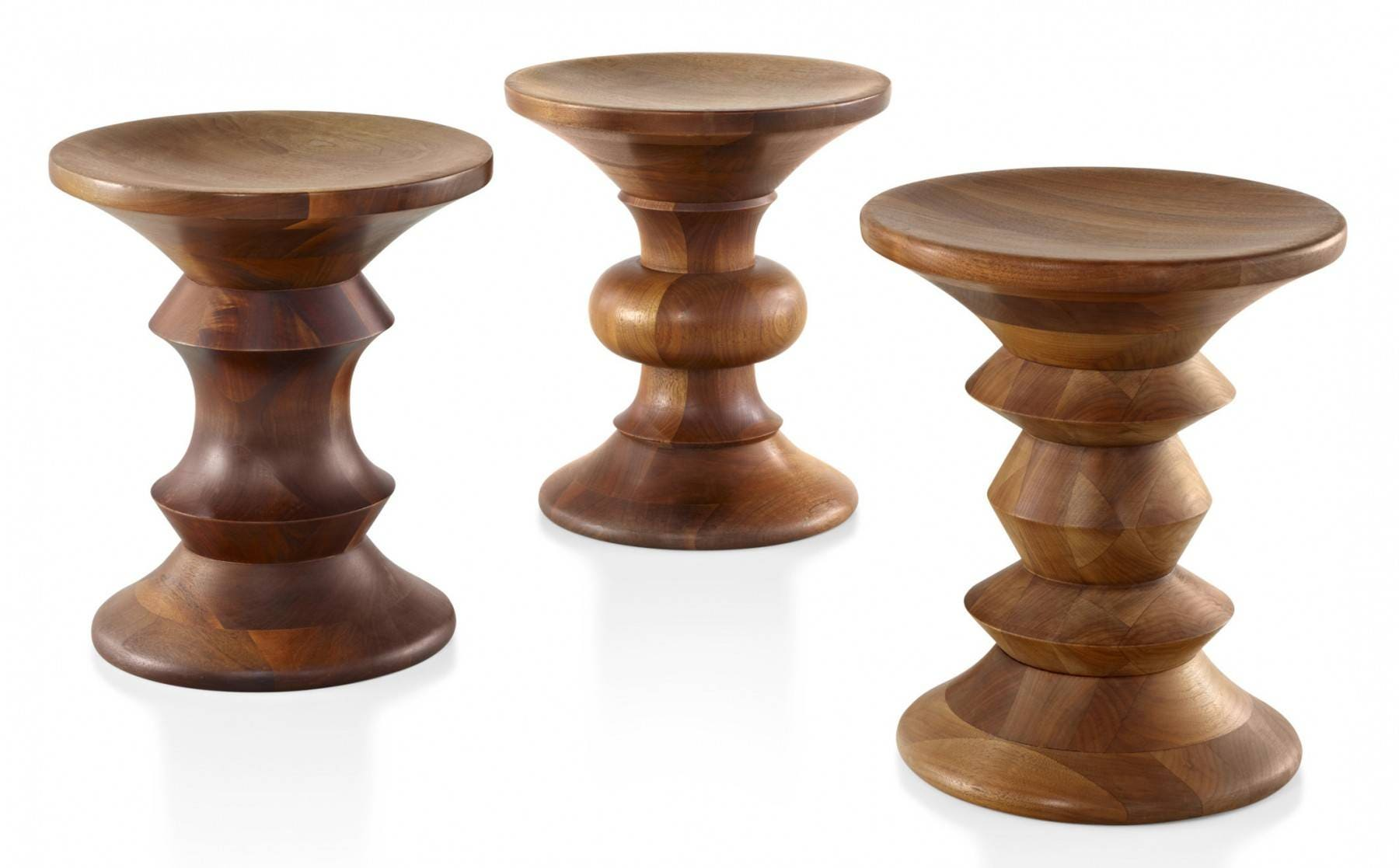 Herman Miller Eames® Walnut Stool