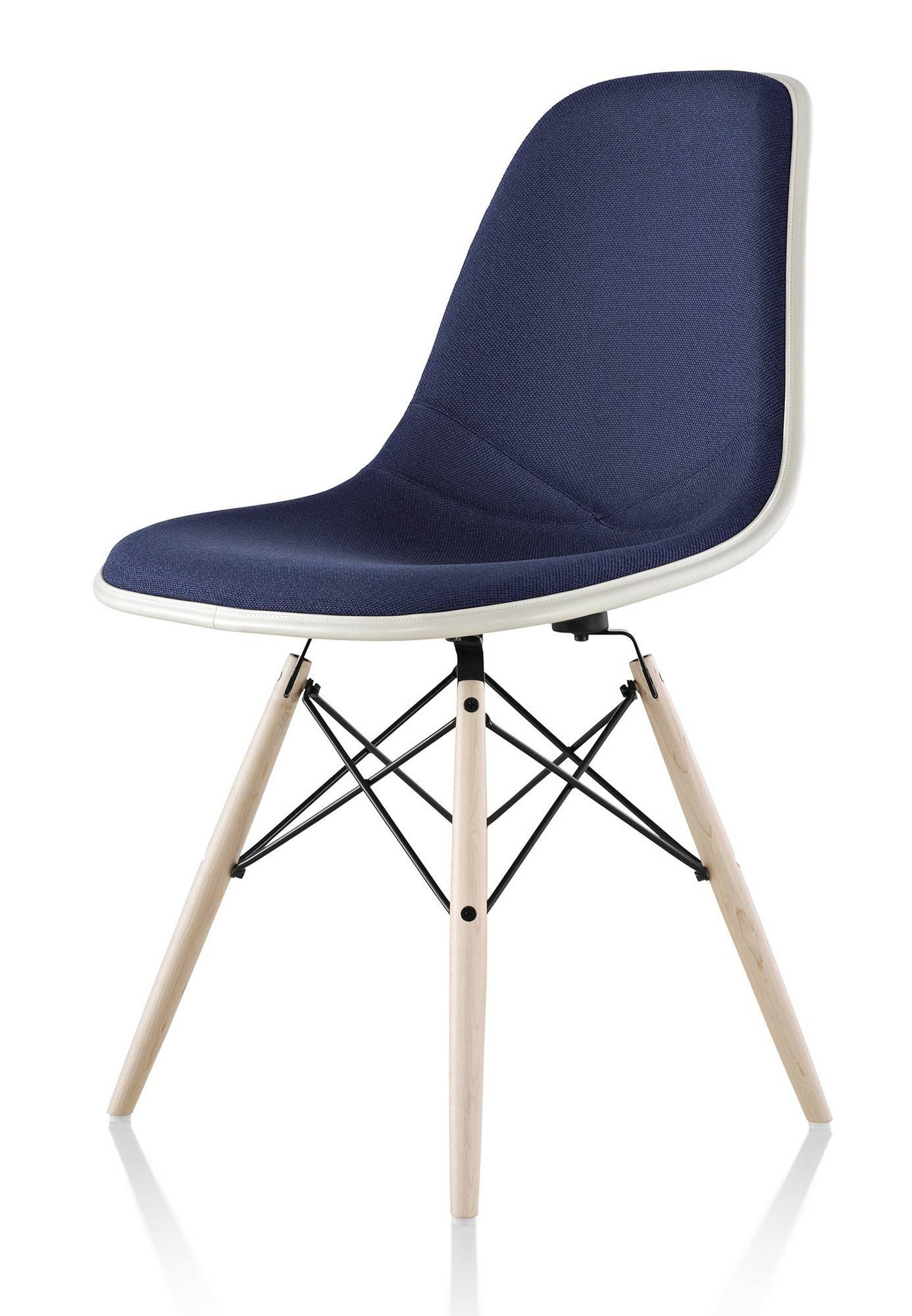 Herman Miller Eames® Molded Fiberglass Side Chair Upholstered Shell