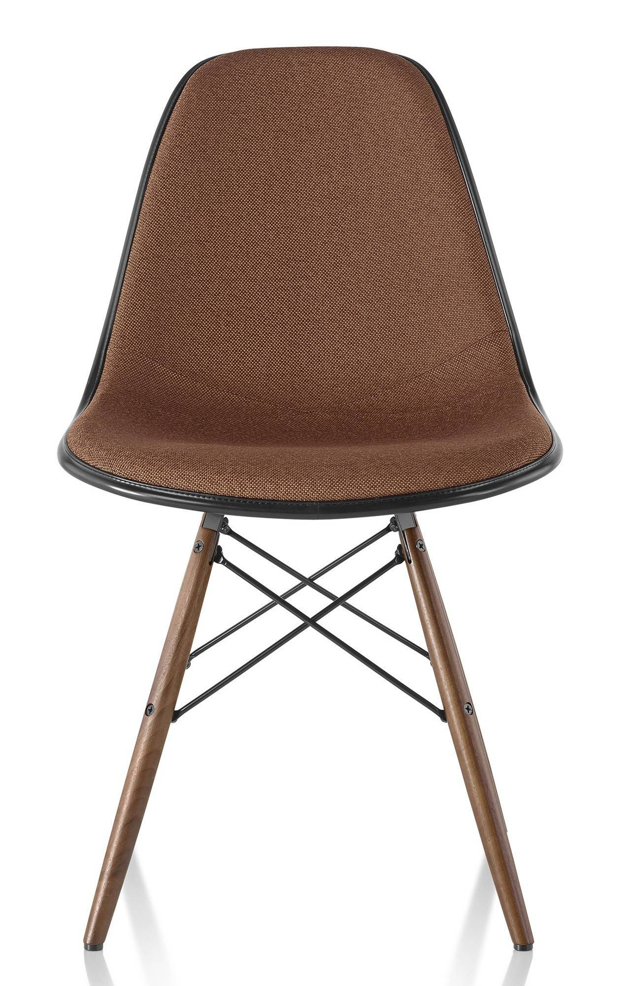 Herman Miller Eames® Molded Plastic Side Chair Upholstered Shell