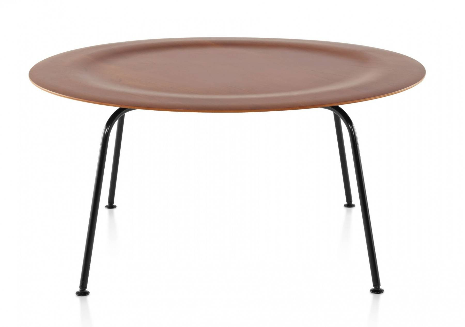Herman miller eames molded plywood coffee table metal - Herman miller eames table ...