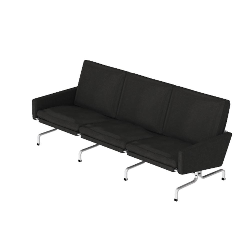 fritz hansen pk31 3 seater sofa gr shop canada. Black Bedroom Furniture Sets. Home Design Ideas