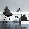 Fritz Hansen Drop Chair (Black Edition)