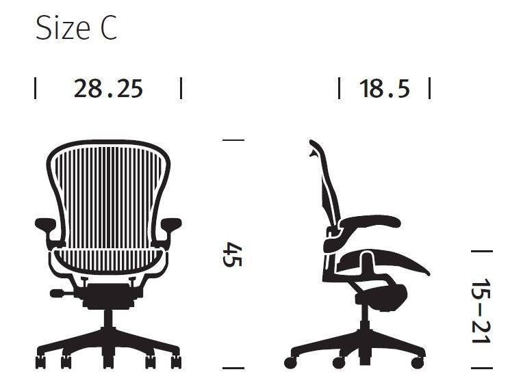 Aeron Chair Size How To Tell Herman Miller