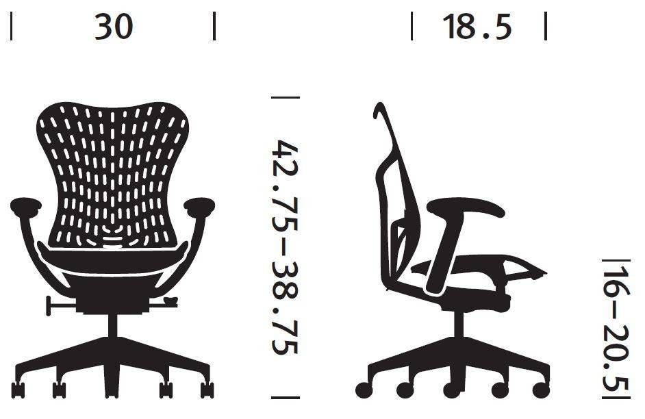 Herman Miller Mirra® 2 Chair - Executive Turquoise