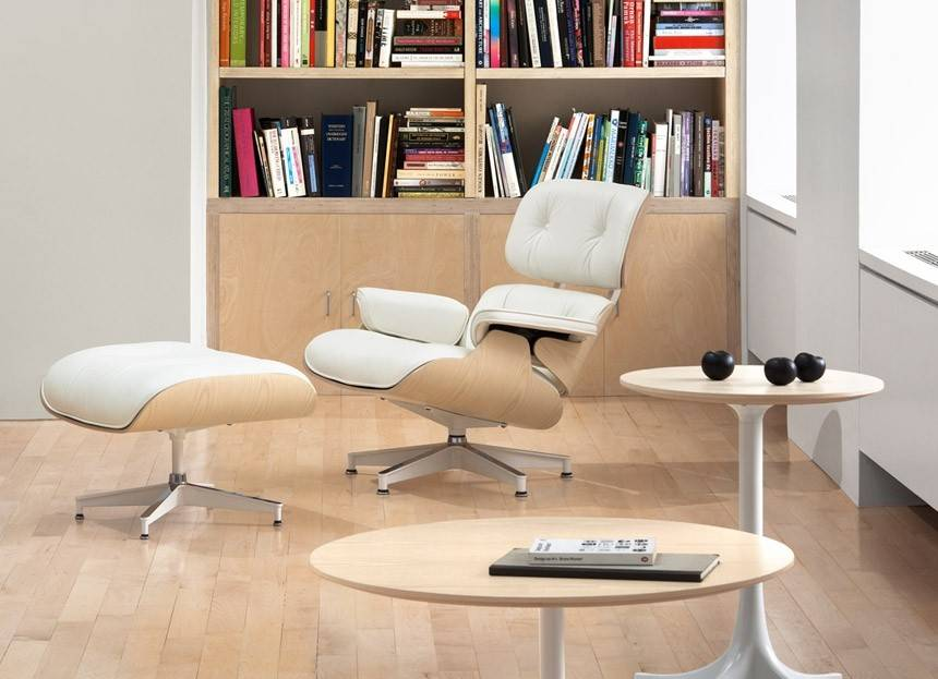 ... Eames® Lounge Chair White Ash. 1