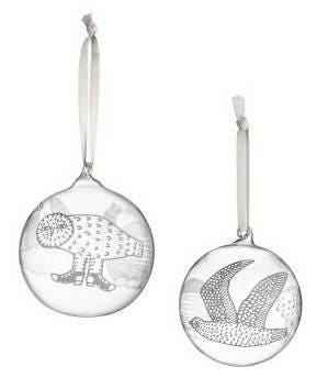 CLEARANCE - Iittala Birds by Toikka - Christmas Glass Ornament 2016