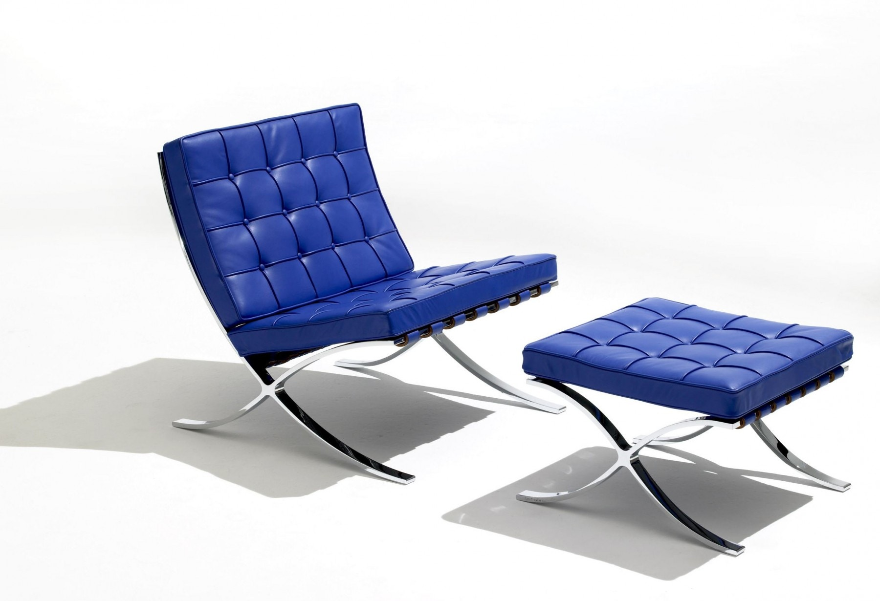 knoll ludwig mies van der rohe  barcelona lounge chair  gr shop  -