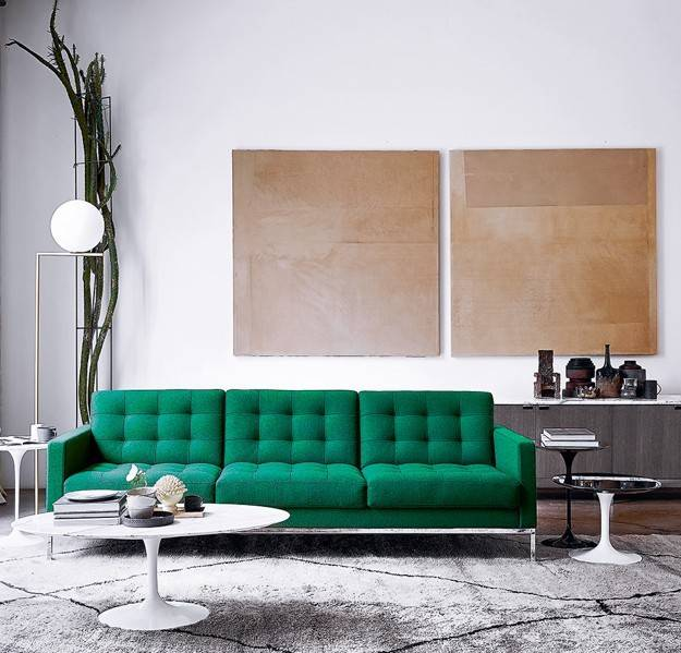 Knoll Florence - Relaxed Lounge Sofa