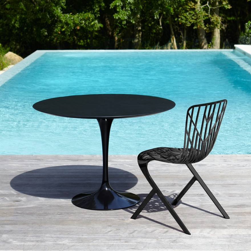Knoll Saarinen Round Dining Table Outdoor Gr Shop Canada