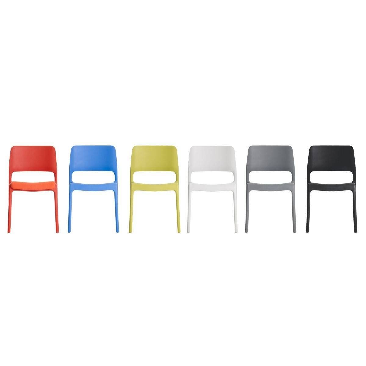 Knoll Chadwick - Spark Stacking Lounge Chair, Unupholstered
