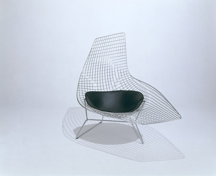 Knoll Harry Bertoia Asymmetric Chaise Gr Shop Canada